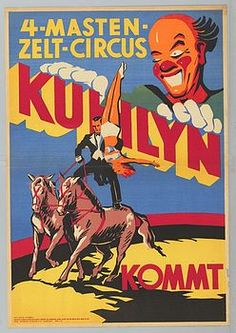 Circus Poster Vintage Circus Posters, Horse Illustration, Circus Circus, Poster Pictures, Amusement Parks, Carnivals, Sideshow, Antique Art, Art Images