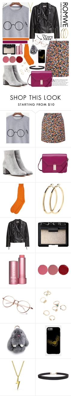 """""""Untitled #281"""" by gina-cremont ❤ liked on Polyvore featuring Dorothy Perkins, Gianvito Rossi, Ted Baker, Pieces, H&M, NARS Cosmetics, Fresh, Old Navy, Charlotte Tilbury and Bling Jewelry"""