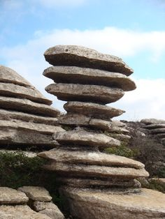 El Torcal de Antequera Balanced Rock, Natural Park, Rock Formations, Natural Phenomena, Andalusia, Belleza Natural, Weird Facts, Public Art, The Good Place