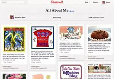 Susie QT pies Scraps of Life: Join the Pinterest ALL ABOUT ME blog hop