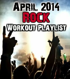 Top Rock Songs of April 2014 for the ultimate rock workout playlist. Love me some rock! Motivational Workout Songs, Best Workout Songs, One Song Workouts, Fun Workouts, Cardio Music, Workout Music, Spin Playlist, Playlist Ideas, Best Metal Songs