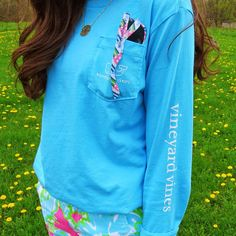 Vineyard vines and lilly