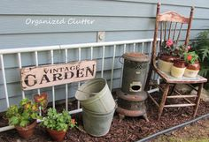 New finds and a new outdoor vignette.