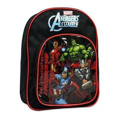Marvel Heroes Avengers Backpack - Featuring Iron Man Captain America Thor & The Hulk - Toy Sale Marvel Heroes, Marvel Avengers, Iron Man Captain America, School Bags For Kids, Kids Backpacks, Toy Sale, Toddler Preschool, Hulk, Thor