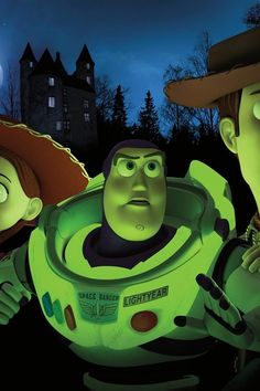 Buzz light year in toy story of terror