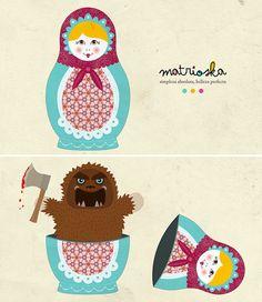 _I love Matrioska by Gabriel Urra, via Flickr