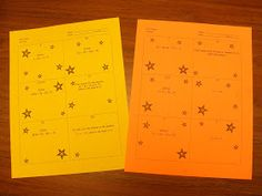 Thought I'd share an activity with my readers that I have been using for the last couple of years. This activity is called a Star Chain. Whe...