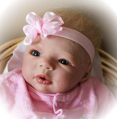 """Reborn doll crafted at """"Until Forever Nursery"""""""