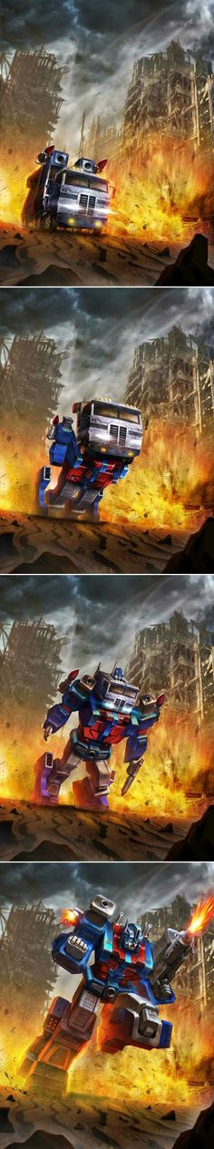 Transformers - Legends - Autobot Ultra Magnus by manbu1977 on deviantART