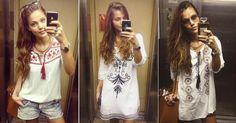 Pâmela Tomé, vilã de Malhação, é apaixonada por batas; saiba usar!