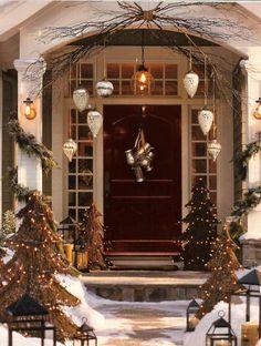 La Décoration Noël Extérieur Parfaite Pour Votre Maison Front