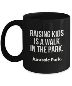 Jurassic Park Coffee Mug Black
