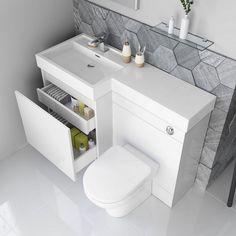 Olympia Gloss White Drawer Vanity Unit – Florence Pan - Maid Tutorial and Ideas Tiny Bathrooms, Tiny House Bathroom, Bathroom Design Small, Bathroom Layout, White Bathroom, Bathroom Ideas, Bathroom Organization, Bath Ideas, Bathroom Storage