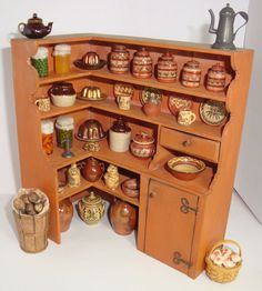 44pcs in 1983 Jim Holmes Pantry Cupboard 29 Jane Graber Pottery 2 Hairy Potter +