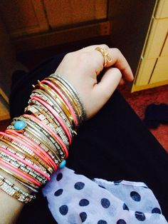 Can a girl ever have too many bangles?