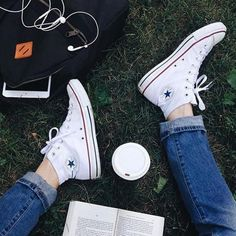 Shop Converse Chuck Taylor All Star High Top Sneaker at Urban Outfitters today. Outfits With Converse, Converse All Star, Converse Shoes, Converse Classic, Custom Converse, White Converse, Ropa Brandy Melville, Cute Shoes, Me Too Shoes