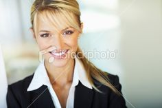 Portrait of a smiling young businesswoman Royalty Free Stock Photo