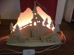 Weihnachtsdeko - Winterlandschaft - ein Designerstück von Susann-Flanz bei DaWanda
