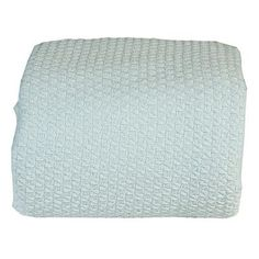 Intrade Global Luxury Super Soft Cotton Blanket Size: Queen, Color: Canal Blue
