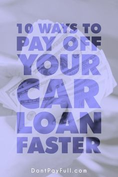 Bring that negative balance down fast. Try these 10 Ways to Pay Off Your Car Loa.Bring that negative balance down fast. Try these 10 Ways to Pay Off Your Car Loan Faster! Money Tips, Money Saving Tips, Mo Money, Money Budget, Money Hacks, Paying Off Car Loan, Paying Off Credit Cards, Payday Loans, Car Loans