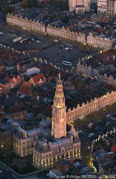 ✈️ Photo aérienne de Arras - Pas-de-Calais (62)