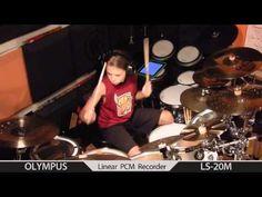 ▶ Igor Falecki - Bomfunk MC's - Freestyler (Drum Cover) 11 y old - YouTube