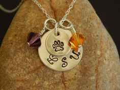 Personalized Sports Necklace Sports Mom by AJewelryJunction, $28.00