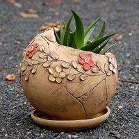 Hand Built Pottery, Slab Pottery, Pottery Vase, Coconut Shell Crafts, Slab Ceramics, Ceramic Lantern, Pottery Painting Designs, Pottery Workshop, Clay Pot Crafts