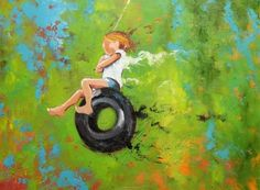 Commission Your Own Swing Custom Portrait Oil Painting By Roz