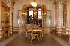 The Victor Horta Museum. Brussels, Belgium.