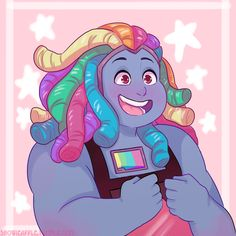 Bismuth by The Dragon Hungers Bismuth Steven Universe, Steven Universe Gem, Universe Art, Steven Universe Personajes, Holly Blue, Psychedelic Drawings, Character Development, Cartoon Network, Nerd