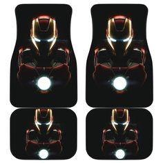Iron Man 2018 Car Mats Car Mats, Car Floor Mats, Spiderman Car, Harry Potter Car, Mat Best, Iron Man Suit, Car Accessories, Daily Wear, Marvel