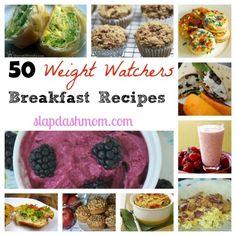 Weight Watcher Breakfast Recipes