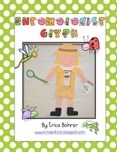 This download is for an entomologist glyph craftivity. It includes a mini-book for the students to answer the glyph questions in, teacher direction...