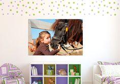 Tierliebe fürs Kinderzimmer: http://www.cewe-fotobuch.at/produkte/wanddekoration/ #diy #wanddeko #kinderzimmer #kids