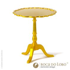 Shield Side Table Coolors Collection #yellow design available at AllModernOutlet.com
