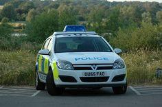Bedfordshire-Police car