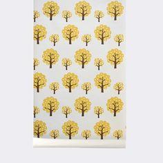 "WallSmart Dotty 32.97' x 20.87"" Botanical Wallpaper"