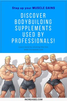 Learn how to hack your muscle growth. Discover the best alternatives to steroids that are safe, natural and efective. Use the best and forget the rest! Muscle Mass, Gain Muscle, Build Muscle, Abc Guide, Muscle Definition, Anabolic Steroid, Bodybuilding Supplements, Improve Yourself, Alternative