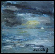 Sea (Australia) acryl on canvas.