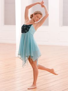 Cry Me a River - Style 0344 | Revolution Dancewear Contemporary/Lyrical Dance Recital Costume