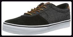 C1RCA LAMB CLAMBBBD Unisex-Erwachsene Sneaker, Schwarz (Black/Black Denim), EU 44 (US 11) - Sneakers für frauen (*Partner-Link)