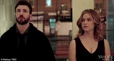 Directorial debut: Chris Evans, 34, appears alongside Alice Eve, 33, in the first trailer ...
