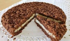 CROSTATA SBRICIOLATA BOUNTY DI BENEDETTA Crumble Pie, Baking Bad, Brownie Bar, Chocolate, Biscotti, Truffles, Tiramisu, Banana Bread, Recipies