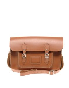 Image 1 of Cambridge Satchel Company Tan Leather Satchel Brown Leather Satchel, Leather Satchel Handbags, Brown Leather Purses, Cambridge Satchel, Asos, It Goes On, Retro Chic, Laptop Bag, Fashion Bags