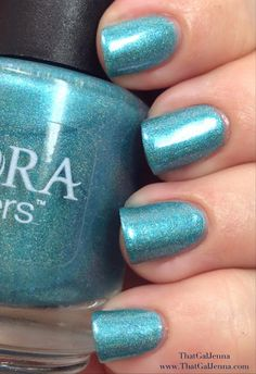 ThatGalJenna - Aurora Lacquers Review and Swatches - Mystic Mermaid Collection - Sailor Eyes
