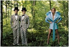 Alice in wonderland Photography by- Annie Leibovitz Model- Natalia Vodianova