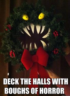 Last Trending Get all nightmare before christmas door decorations Viral monster wreath Merry Christmas, Dark Christmas, Simple Christmas, Christmas Time, Christmas Crafts, Xmas, Christmas Spectacular, Christmas Images, Funny Christmas