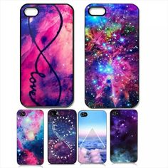 Atacado 2014 Meninas Marca New galaxy espaço/universo Projeto Animal do Estilo Duro plástico de Volta Caso de Telefone Capa Para O Iphone 4 4S 5 5S