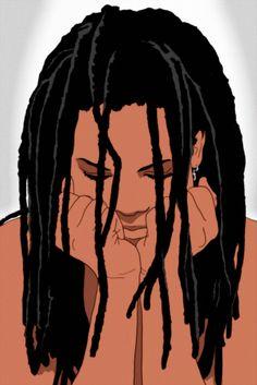Black Women Dreadlocks on Pinterest | Dreadlock Hairstyles, Sister ...